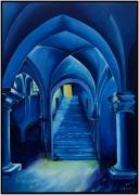 """tableau architecture provins dimes grange bleu : """"La Grange aux Dimes"""""""