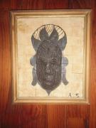 tableau autres : masque africain