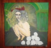 tableau personnages : La veuve noire