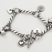 bijoux marine bracelet argent dessin : Bracelet en argent