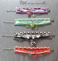 Bracelets multiples style liberty