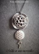 bijoux collier filo modele unique corail marin : Collier gamme minérale n°2