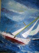 tableau marine marine pop art mer : TEMPETE 1