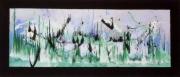 tableau abstrait : Avalanche