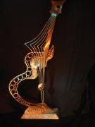 sculpture : Guitare d'OR