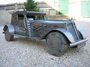 sculpture : voiture automobilr