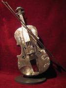 sculpture autres : violon