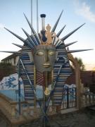 sculpture : Toutankamon monumental