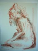 dessin nus nu : Emilie