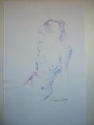 dessin nus nu : Eloïse