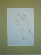 dessin nus nu : Marie,4