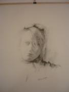 dessin personnages portrait femme : Laura