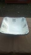 ceramique verre autres art singulier art brut harold dupre : PLAT A LEGUMES
