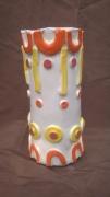 ceramique verre autres art brut art singulier harold dupre : vase en céramique