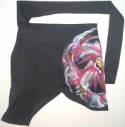 art textile mode fleurs jupe : Jupe pétale de rose