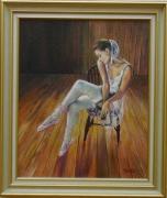 tableau personnages danse personnage beaute : Danseuse au Repos