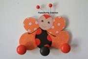 deco design animaux papillon portemanteaux enfantsbebe : Papillon porte-manteaux