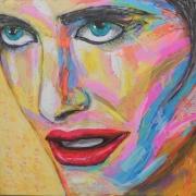 tableau personnages portrait visage artpop popart : Waiting...