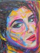 tableau personnages popart artpop bd : Mouvement