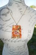 bijoux sautoir fimo : sculpture sur fimo
