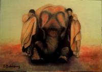 douceur d'un éléphant