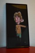 dessin personnages homme deformation : Mutilation