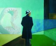tableau scene de genre requin personnage lumiere intrigue : L'arnaqueur