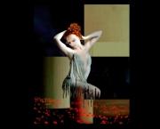 tableau abstrait art contemporain abstrait figuratif surrelisme annecy : La muse