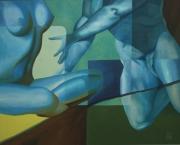 tableau nus erotisme academique lumiere emotion : La tentation
