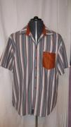 art textile mode autres chemise homme rayure soie : rayuresoie