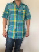 art textile mode abstrait chemise homme carreaux madras : madras