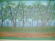 tableau paysages foret bois : les bois