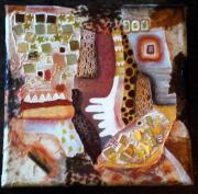 tableau abstrait abstrait : sans titre
