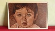 bois marqueterie personnages sthefan ciocan meaux enfant : pyrogravure