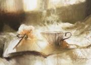 tableau nature morte pastel sec nature morte alexis le borgne peinture : Calme et volupté