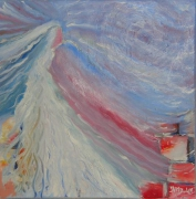 tableau abstrait : Soufle de vie