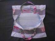 tableau fleurs cuisine cadeau noel sac ,a tarte : Rose