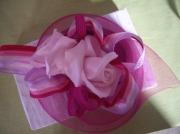 art textile mode fleurs chapeau mode chic : Bibi Liliane