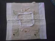 art textile mode cadeau cuisine sac ,a tarte noel : Fleuri