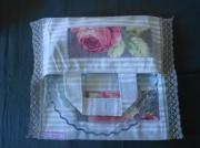 art textile mode cuisine sac ,a tarte noel cadeau : Rosalie
