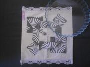 art textile mode cuisine noel sac ,a tarte cadeau : Sac a tarte