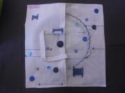 art textile mode sac ,a tarte cuisine cadeaux noel : sac à tarte