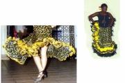 art textile mode : MARIPOSA