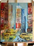 tableau villes new york taxi : les taxis jaunes