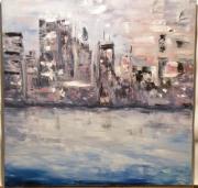 tableau villes manhattan ville new york city : Manhattan 1