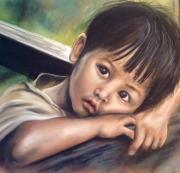 tableau personnages : enfant reveur