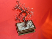 artisanat dart autres aventurine bonsai creation arbre deco arbre : BONSAI AVENTURINE