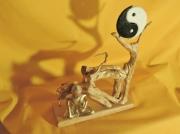 artisanat dart abstrait bouddha zen yin yang racine zen : RACINE ZEN