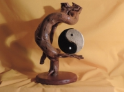 artisanat dart autres yin yang creation artisanale : YIN ET YANG