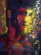 tableau personnages bruce lee asie arts martiaux : Bruce Lee